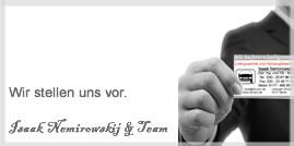 Über Kfz-Sachverständiger Dipl. Ing. Isaak Nemirowskij